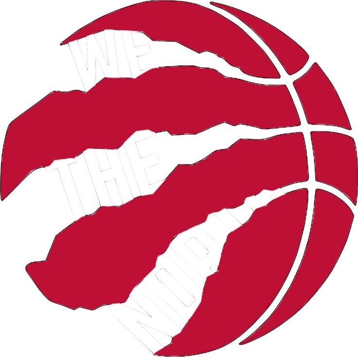 "Toronto Raptors logo ""We The North"""