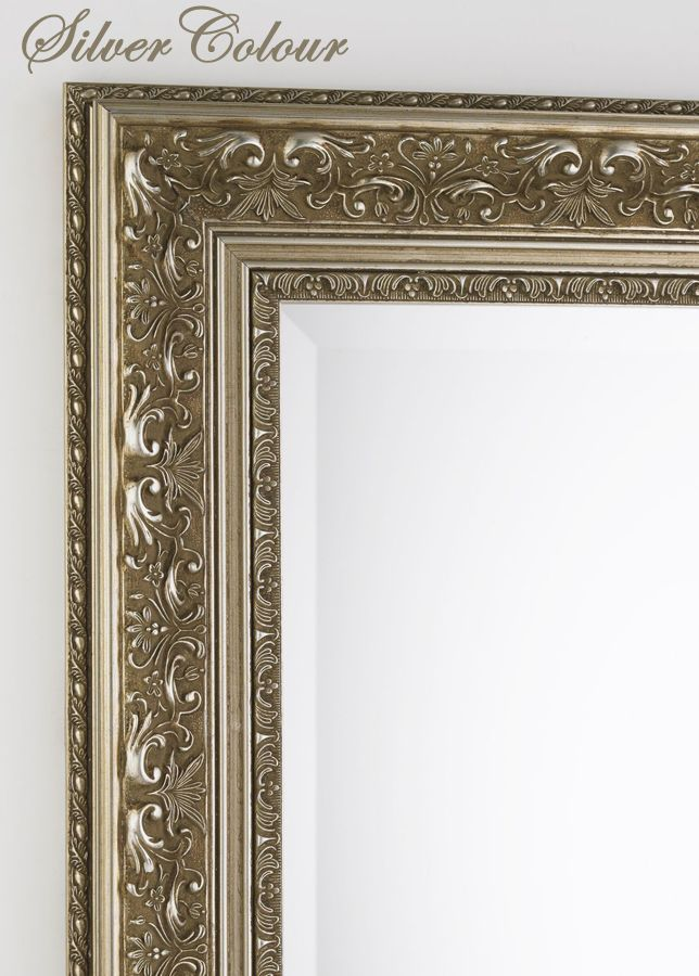 The Ornate Mirror Silver. Master ensuite