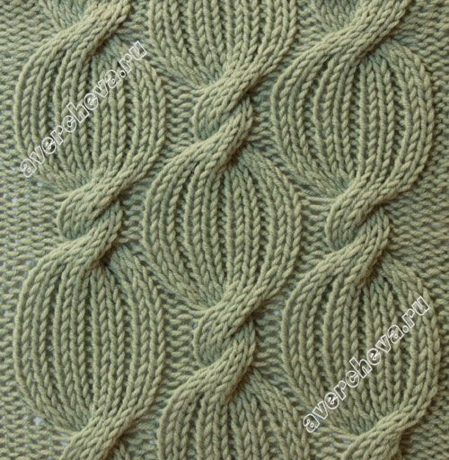 I'd have named this one.. Pumpkin Vines!   knit motif stitch