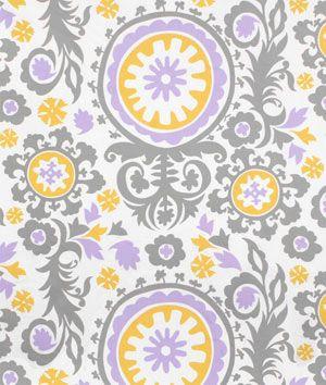 Shop Premier Prints Suzani Wisteria Twill Fabric at onlinefabricstore.net for $8.98/ Yard. Best Price & Service.