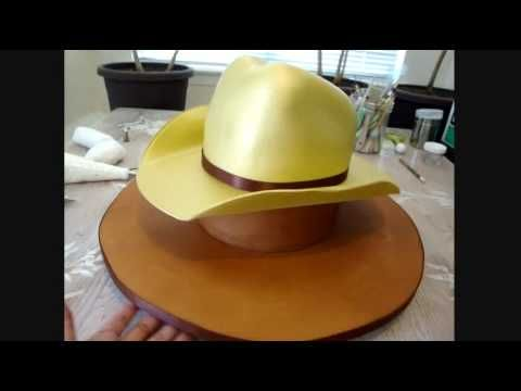 How to make a cowboy hat cake!! Where's my cowboy!!