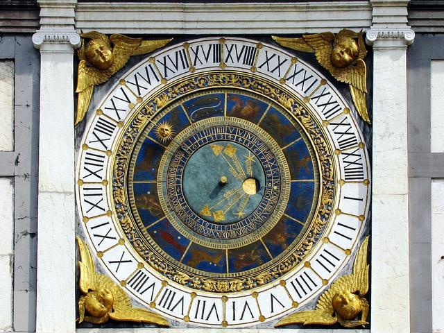 The astronomical clock tower in piazza della Loggia - Brescia - Lombardy    Discover Brescia on Italia.it: http://goo.gl/oCQpm