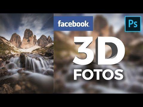 (8) Facebook 3DFotos in erstellen! YouTube