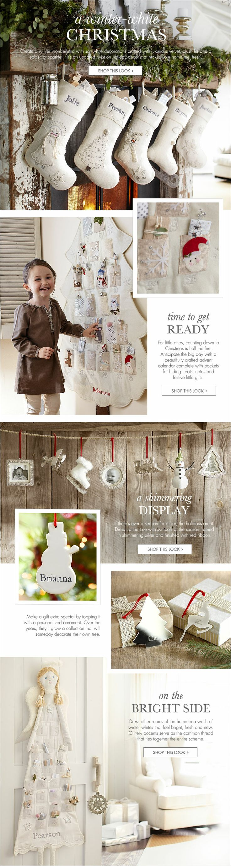 Baby's First Christmas | Pottery Barn Kids