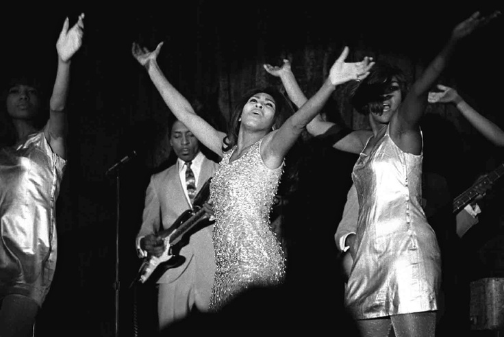 Baron Wolman - Ike and Tina Turner, San Francisco, 1967.