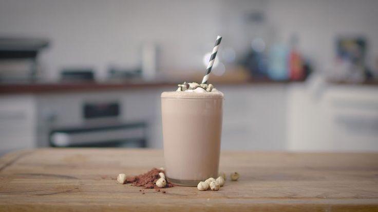 Choklad- och hasselnötsmilkshake - Kit.se
