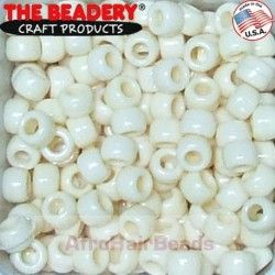 The Beadery Haarkralen Ivoor 9x6mm (25st)