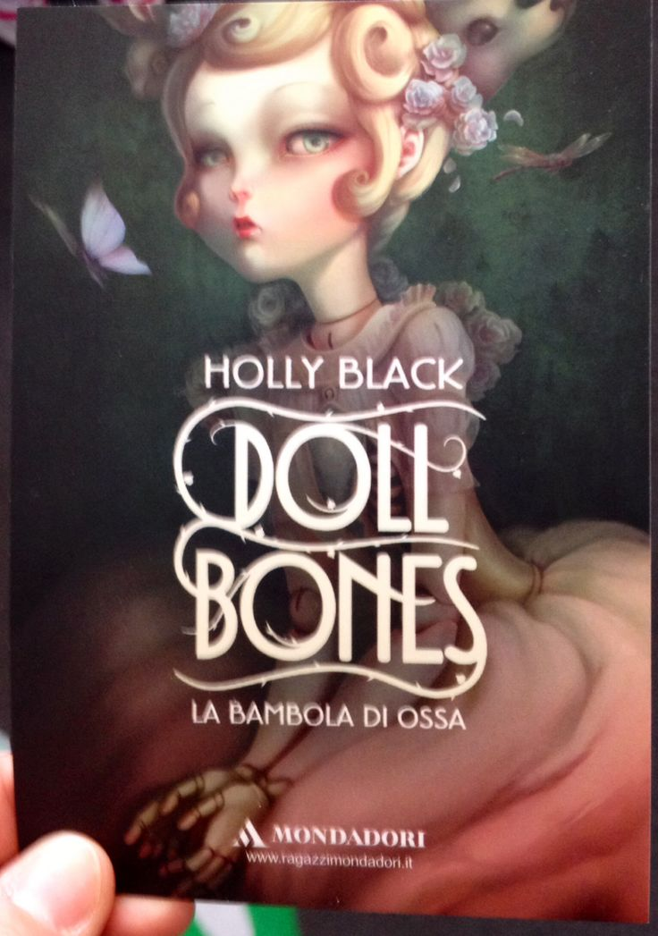 Doll Bones by Holly Black | Cover I ️ | Pinterest | Dolls ...