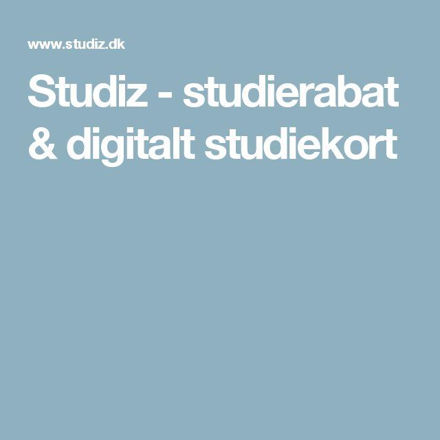 Studiz - studierabat & digitalt studiekort
