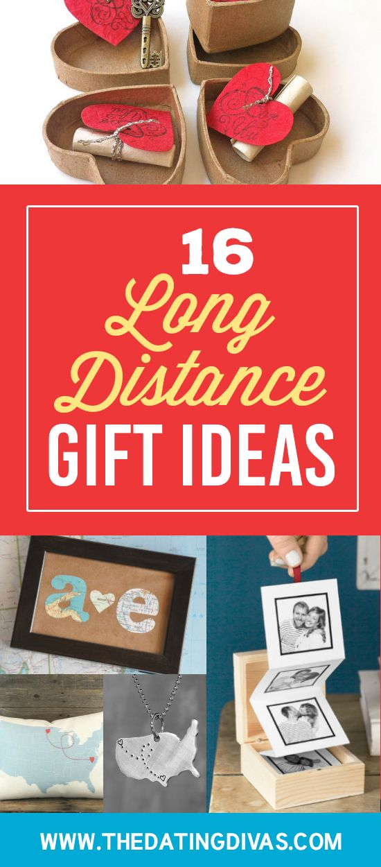 I love these gift ideas for a long distance relationship!! www.TheDatingDivas.com