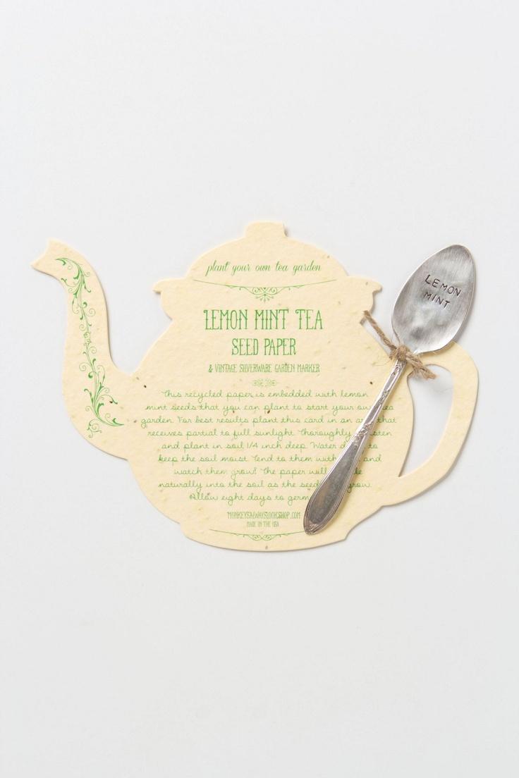 Tea Seed Paper - Anthropologie.com