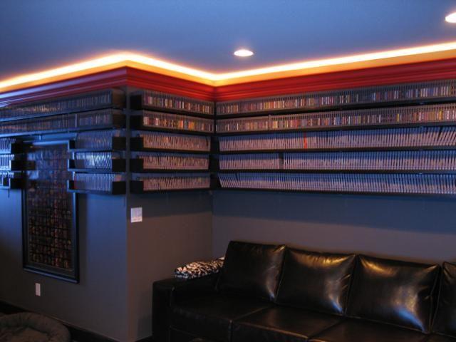 maximus_clean's video game shelves