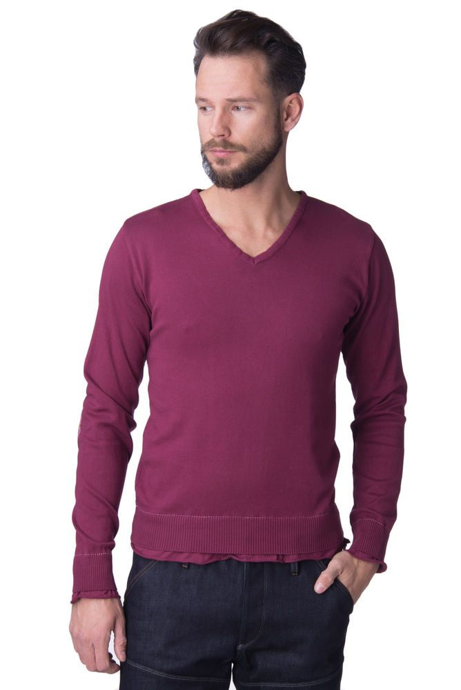 Authentic Fred Perry ITALY MADE Men Crew Neck Sweater Jumper NWT