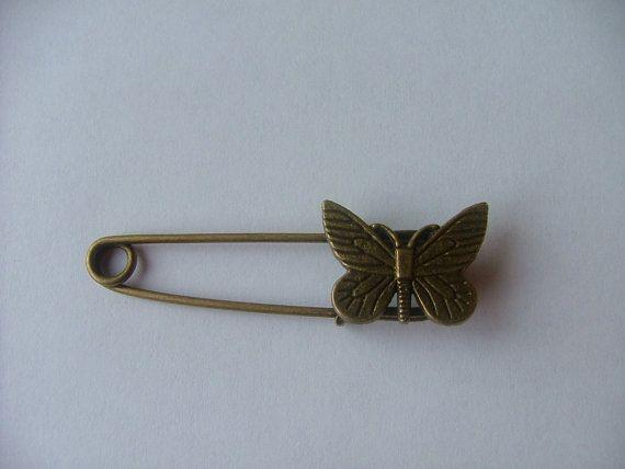 Shawl / Kilt Pin  Butterfly by TheIrishKnittingRoom on Etsy
