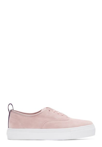 Eytys Pink Suede Mother Sneakers - on #sale 26% off @ #SSense.com  #Eytys