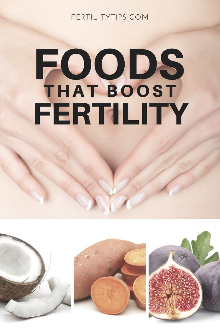 Before turning to medications for fertility difficulties, try beginning with a diet full of foods known to improve the ability to conceive.