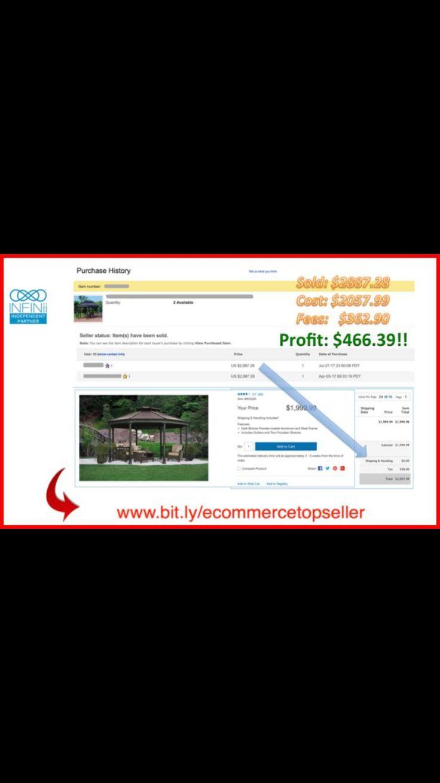 Κοίτα Εδώ Πώς Ένα Μέλος Μας Έβγαλε Από Μια Μόνο Πώληση Ένα Πολύ Καλό Εισόδημα ! 💪 => Για περισσότερες πληροφορίες επισκεφτείτε το Sait μας https://ecommercetopseller.wixsite.com/home => Κάντε Like και Share στην επίσημη σελίδα μας στο Facebook https://www.facebook.com/ecommercetopseller/ => Βρείτε μας και στο Twitter https://twitter.com/ecommercetopsel =>Στο Google Plus http://bit.ly/goplusgle
