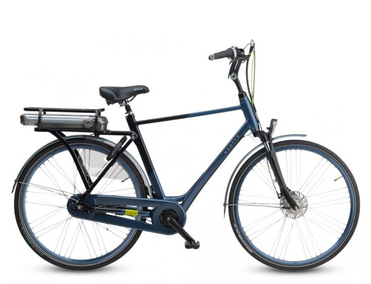 Sparta M8e - elektrische stadsfiets. Dè elektrische fiets met krachtige middenmotor.