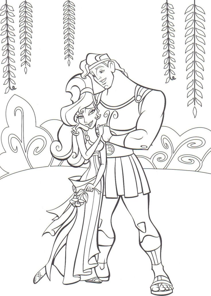 hercules coloring pages for boys coloring pages - Wedding Coloring Books For Children