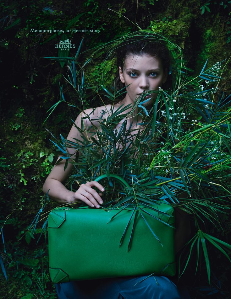 Metamorphosis, an Herms story. Maxibox bag in Evercolor calfskin. Herms 2014 spring-summer campaign. #hermes #fashion