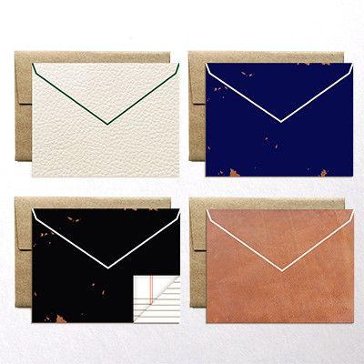 ferme a papier envelope notes