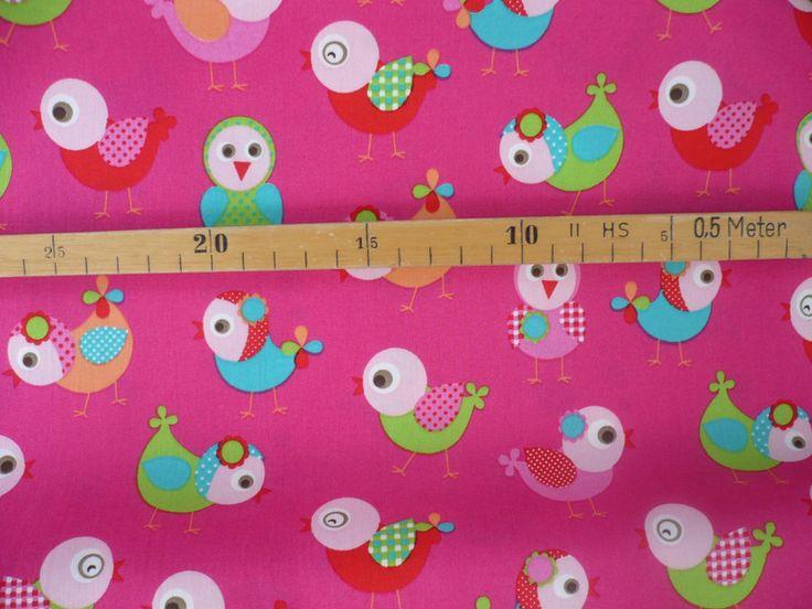 ab 0,25 m stenzo stoff mit vogel,piepmatz,vögel von Stofflotte auf DaWanda.com