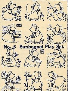 Sunbonnet sue pattern