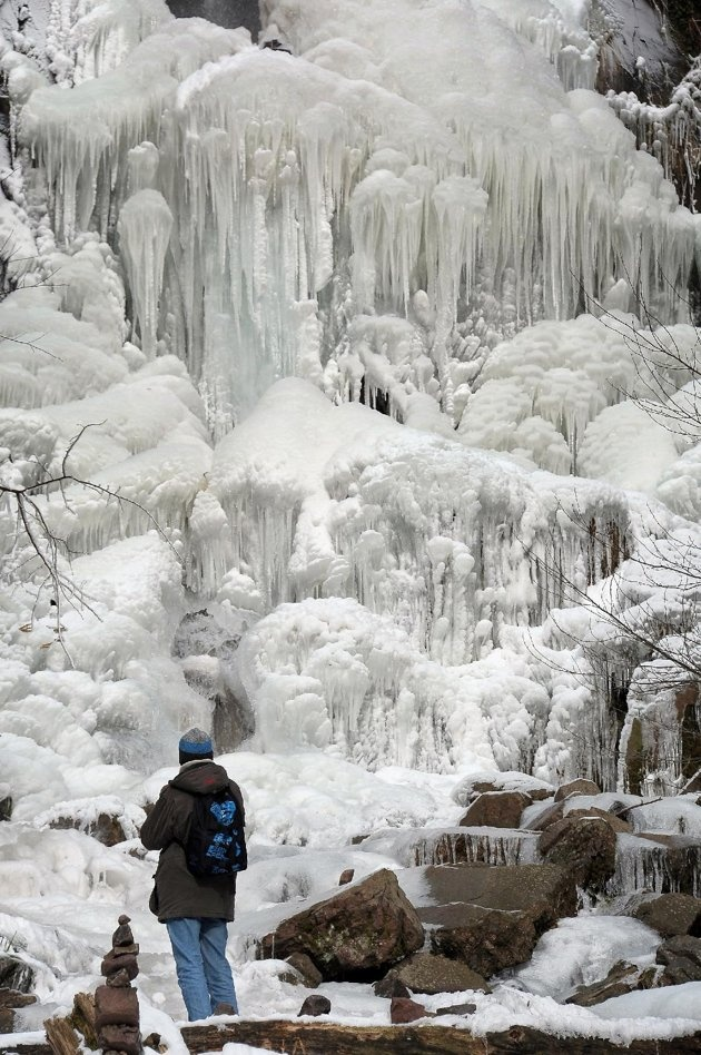 a frozen waterfall in Oberhaslach, eastern France: Oberhaslach, Hiker Walks, Falling Frozen Water, Frozen Fall, Eastern France, Frozen Waterfalls, Alsac France