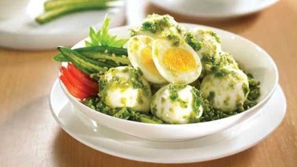 Telur Balado Hijau - Green Egg Balado