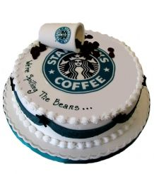 19 best Starbucks Cakes images on Pinterest Starbucks birthday