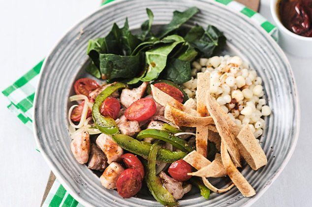 Receta De Ensalada De Verduras Con Lomo De Cerdo Cocina Vital Que Cocinar Hoy Receta Lomo De Cerdo Recetas Saludables Comida