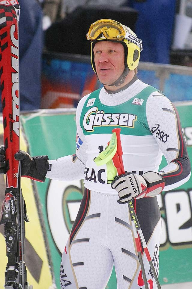 Hermann Maier - Austria - winner 1998, 2000, 2001, 2004
