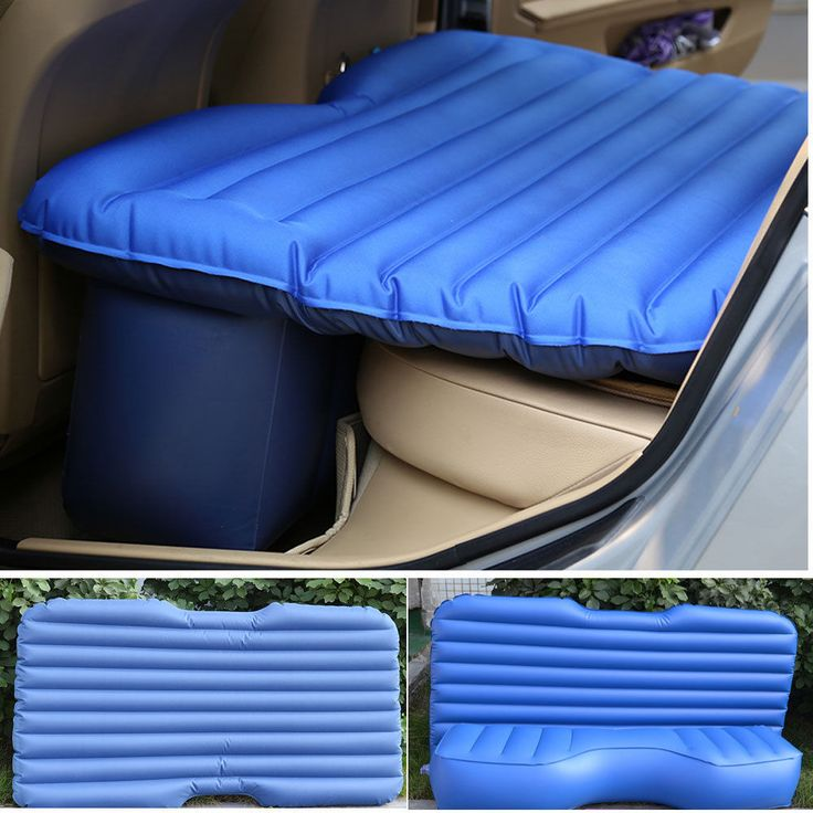 Inflatable Travel Self Drive Car Seat Sleep Rest Bed Air Mattress US  Shipping In Travel