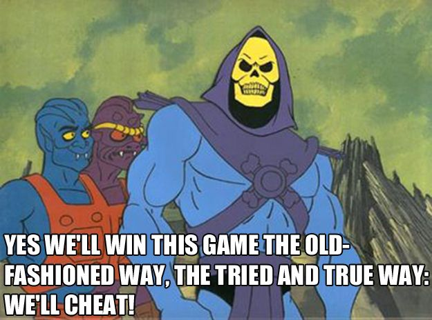 For when someone suggests that you play Settlers of Catan: | The 25 Most Inspiring Skeletor Quotes For Every Occasion