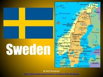 The Best Fun Facts About Sweden Ideas On Pinterest - Sweden map facts