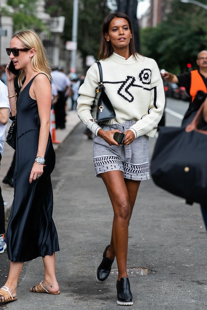 Street style à la Fashion Week printemps été 2019 de New