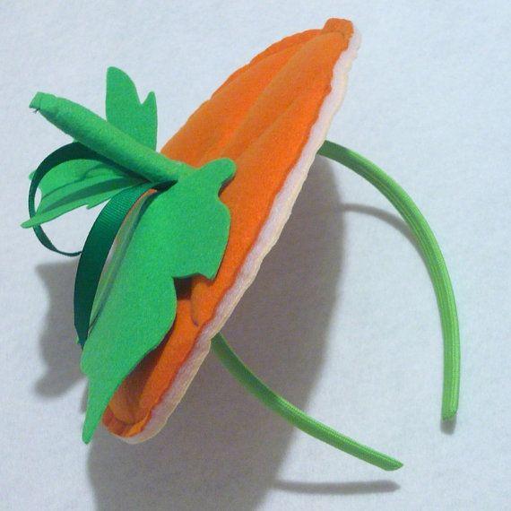 Plush Pumpkin Top Headband Costume Accessory by 4evaKids ...