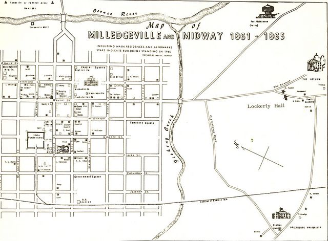 Best Milledgeville Georgia Images On Pinterest Georgia The - Georgia map milledgeville
