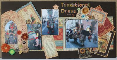 """Wild About Scrap Design Team: G45 - French Country - """"Traditional Dress"""""""
