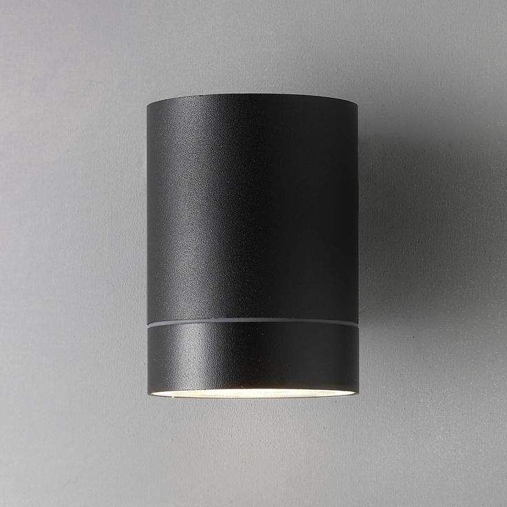 Nordlux Tin Maxi Outdoor Wall Light, Black Used on all outside walls around building on GF - 9 in total (+2 more?)
