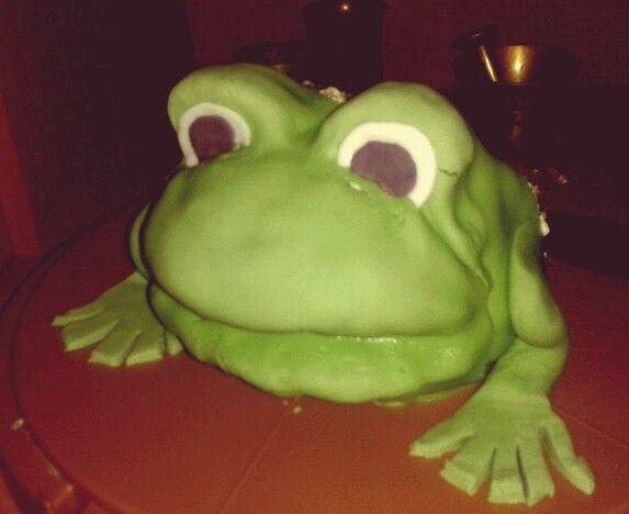Tort żaba. .