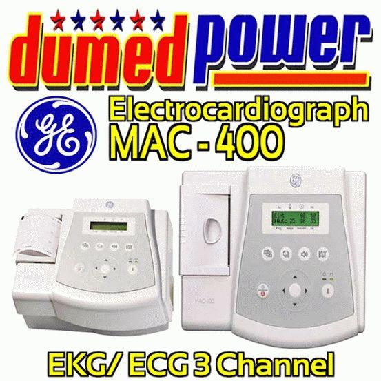 Jual EKG/ ECG/ Electrocardiography Type MAC-400 GE Healthcare