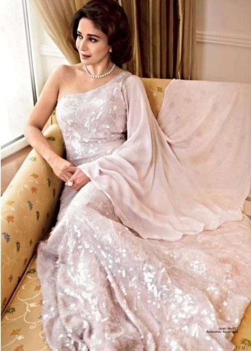 Madhuri makes everything look elegant
