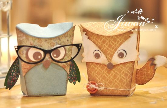 Jiwon Crafts Blog: Owl Box