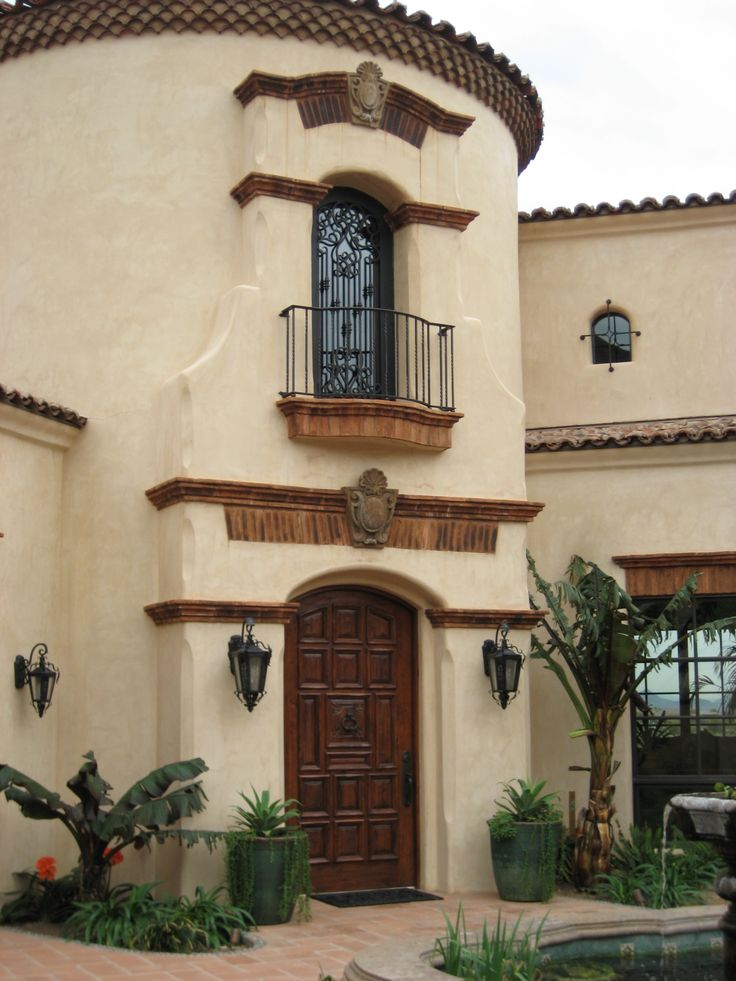 Spanish Colonial entry tower