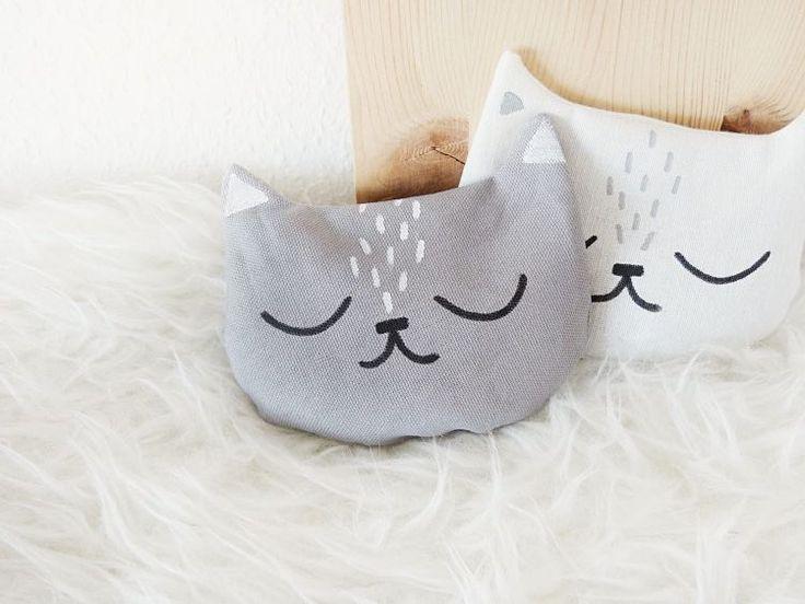 Tutoriel DIY: Coudre une bouillotte sèche en forme de chat via DaWanda.com