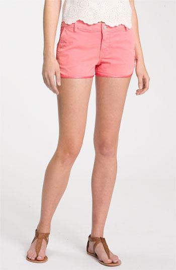 j brand silk trim coral shortsBrand Silk, Pink Shorts, Shorts Coral, Colored Shorts, Satin Trim, Colors Shorts, Coral Wash, Coral Shorts, Silk Trim