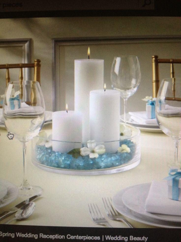 Lindo centro de mesa simple y elegante quinceanera y - Centros de mesa para quinceaneras ...