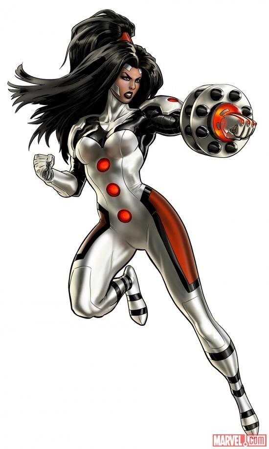 """Omega Sentinel in """"Marvel: Avengers Alliance"""" (Playdom 2012)"""