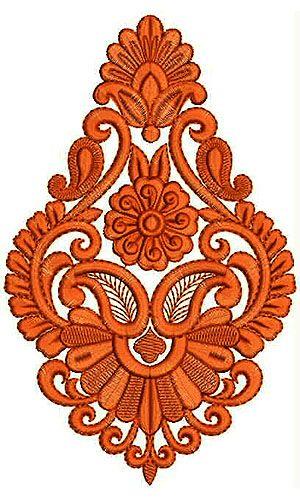 Cotton Saree Embroidery Design